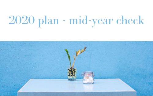 2020 plan – mid-year checkpoint